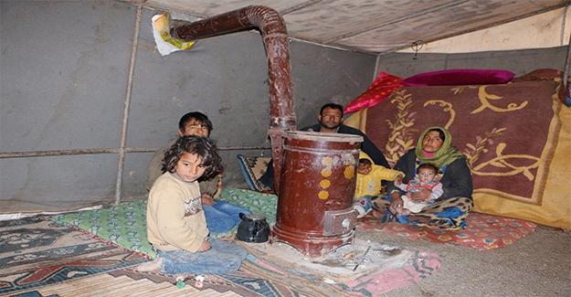 Urfa'da Suriyeli Aileye Hayırsever Desteği
