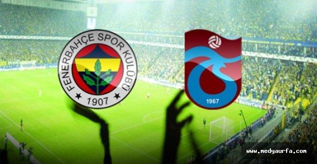 Trabzonspor ile Fenerbahçe 118. Randevuda