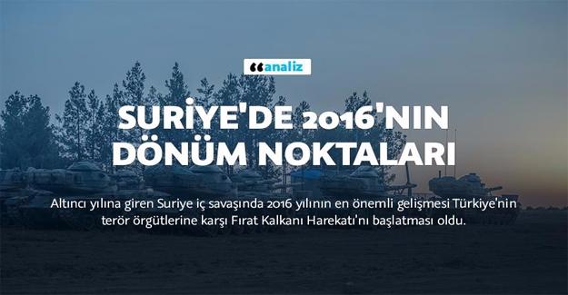 Türkiye, Fırat Kalkanı'yla Hamle Yaptı