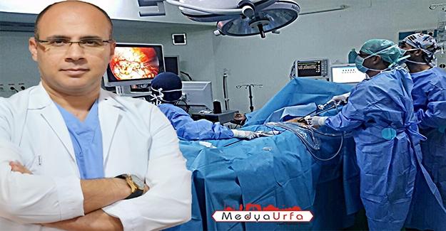 Urfa'da İlk Defa Yara İzi Bırakmayan Ameliyat Yapıldı