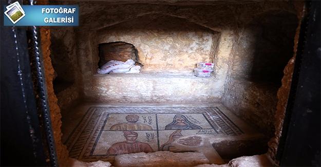 Urfa'daki Mozaikler Edessa Dönemi İnsanlarını Günümüze Taşıyor