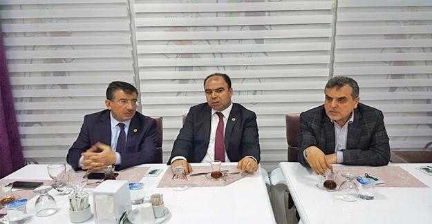 AK Parti'de Urfa'nın Sorunları Konuşuldu