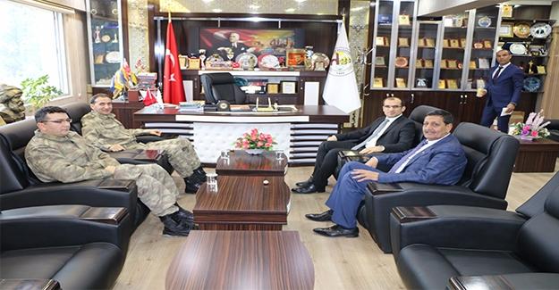 Albay Timuroğlu Harran'ı Ziyaret Etti