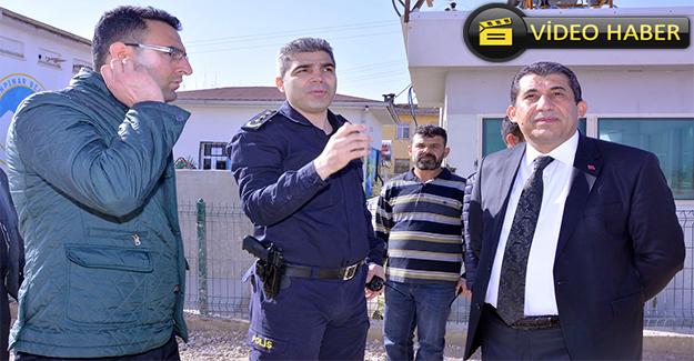 Başkan Atilla Polis Noktasını Ziyaret Etti