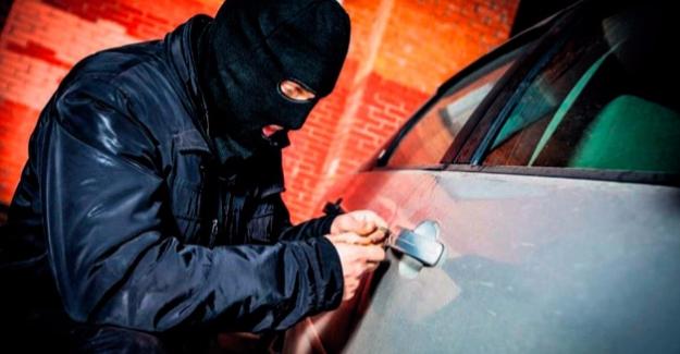 Birecik'te Otomobil Hırsızlığı