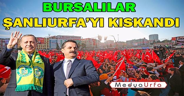 ''Erdoğan'ın Mitinginde Faruk Çelik'in İzleri''