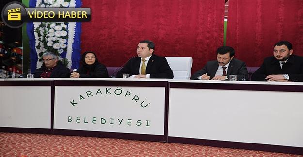 Karaköprü'de 2017'nin İlk Toplantısı Yapıldı