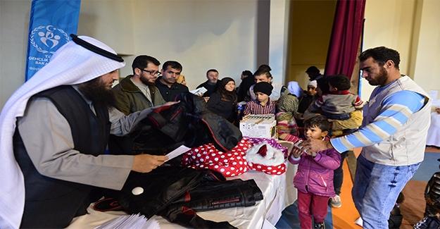 Kuveytliler, Suriyeli Yetimleri Sevindirdi