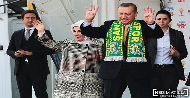 Şanlıurfa Erdoğan'ı Bekliyor
