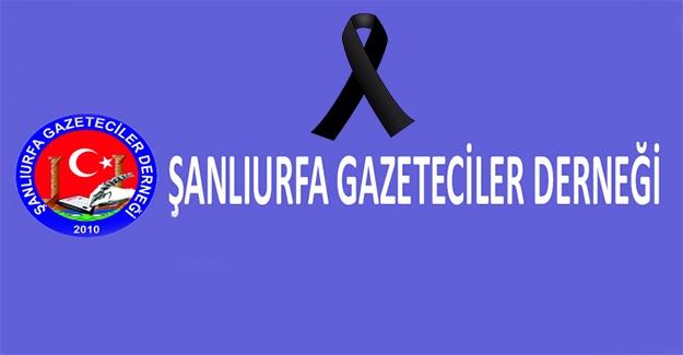 Şanlıurfa Gazeteciler Derneğinden Kınama