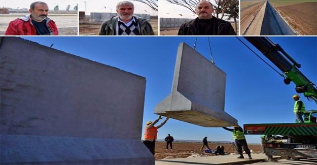 """Sınır hattında """"Güvenlik Duvarı"""" Memnuniyeti"""