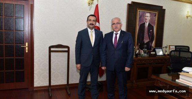 Şutso Meclis Başkanı Mustafa Taş Vali Tuna'yı Ziyaret Etti