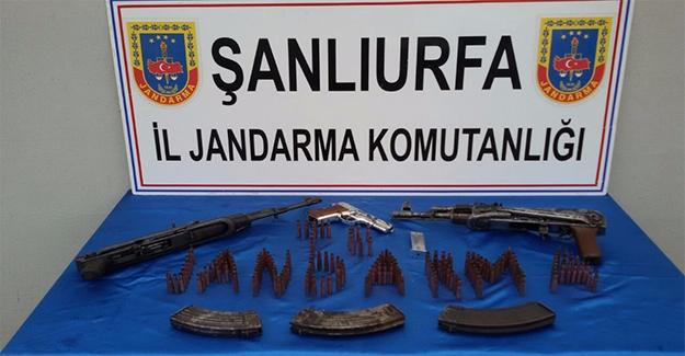 Urfa'da Jandarma'dan Silah Kaçakçılığı Operasyonu