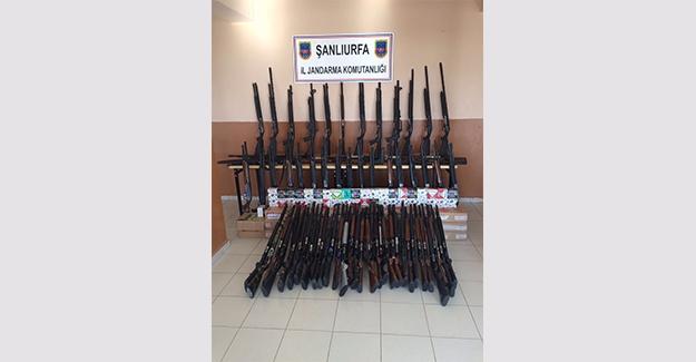Akçakale'de Silah Kaçakçılığı Operasyonu