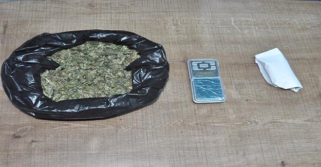 Birecik'te Uyuşturucu Operasyonu: 2 Tutuklama
