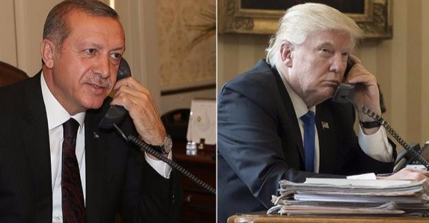 Erdoğan, Trump ile Terörle Mücadeleyi Konuştu