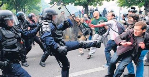 Fransa'da Polis Şiddetine Tepkiler Dinmiyor
