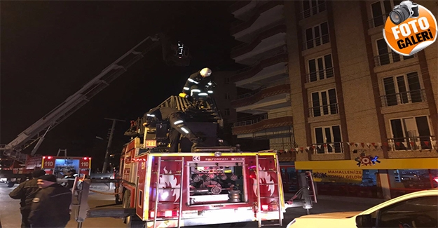 Haliliye'de Bina Yangını: İtfaiye 10 Kişiyi Tahliye Etti