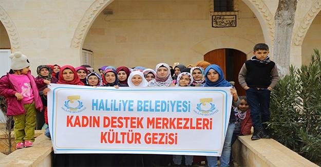 Haliliye'den Kadınlara Kültür Gezisi