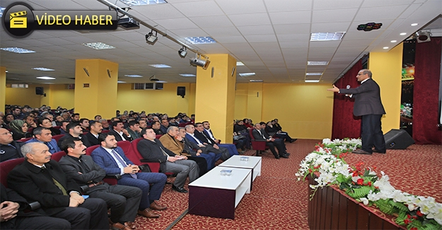 Karaköprü Belediyesi Personeline ''Öfke Kontrolü'' Semineri Verildi