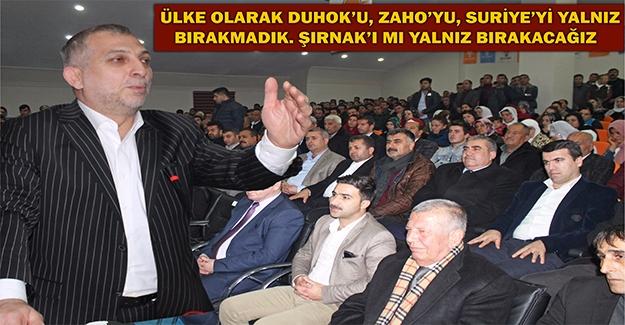 Metin Külünk Şırnak'ta Konuştu