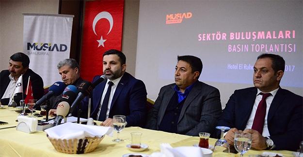 """MÜSİAD Şanlıurfa'dan """"İstihdam Seferberliği""""ne Destek"""