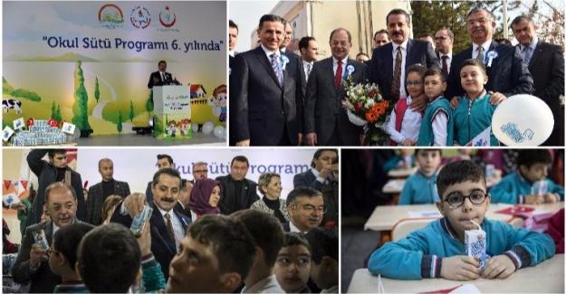 Okul Sütü Programı 6. Yılına Girdi