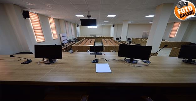 Şanlıurfa'da FETÖ Davaları Görülen Yeni Salon Basına Tanıtıldı