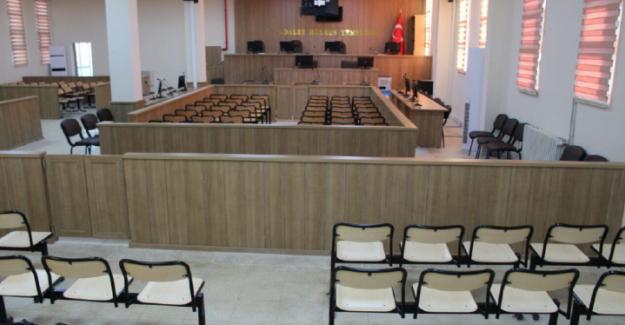 Urfa'da Fetö Davaları Duruşmalarının Görüldüğü Salon