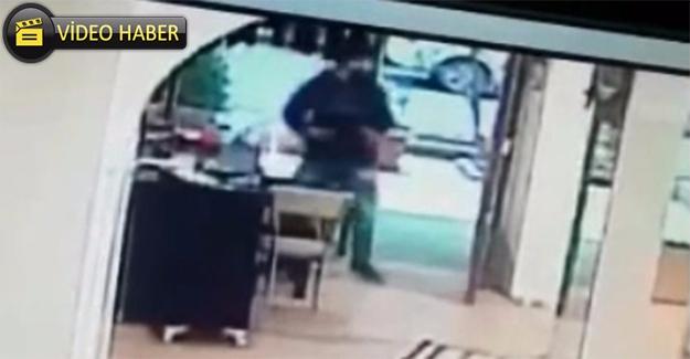 Urfa'da Hırsızlık Anı Kameraya Yansıdı