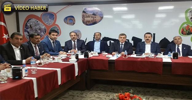 Bakan Çelik Şanlıurfa'da Referandum Startını Verdi