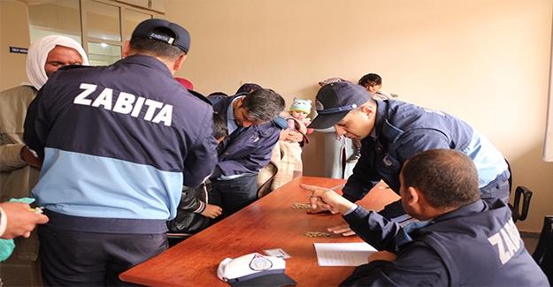 Ceylanpınar'da Zabıtadan Dilenci Operasyonu