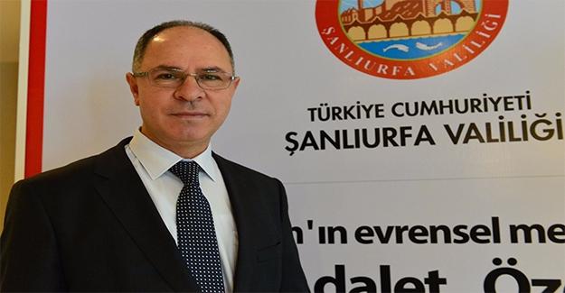 Filistin'in Ankara Büyükelçisi Faed Mustafa Şanlıurfa'da Konuştu