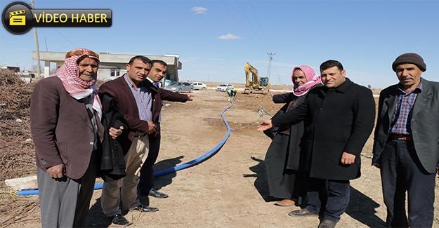 Harran'ın Kırsal Mahalleleri İçme Suyuna Kavuşuyor