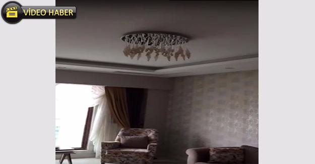Şanlıurfa'daki Deprem Anı Kameraya Yansıdı