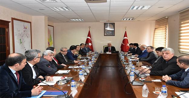 Şanlıurfa'da Suriyeliler İçin Koordinasyon Toplantısı Yapıldı