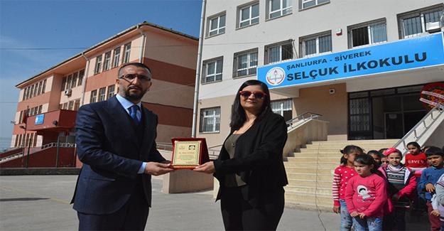 Siverek'te Şehit İsimleri Okulda Yaşayacak