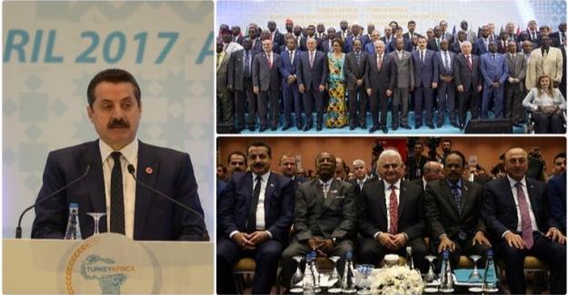 Bakan Çelik ''Afrika'nın Yanında Olmaya Devam Edeceğiz''