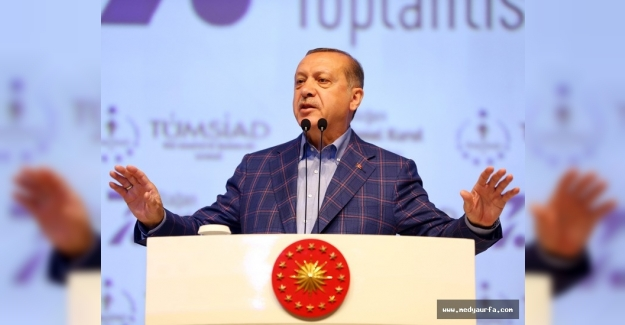 """Erdoğan: """"Terör Örgütleriyle Mücadele Mecburiyettir"""""""