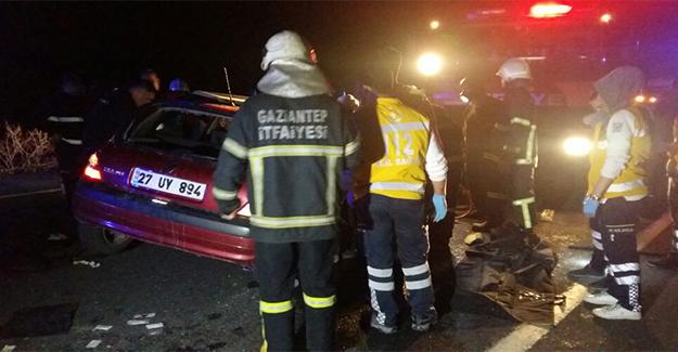 Gaziantep'te Trafik Kazası: 5 Ölü 5 Yaralı
