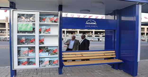Şanlıurfa'da Durak Kütüphaneler Dönemi