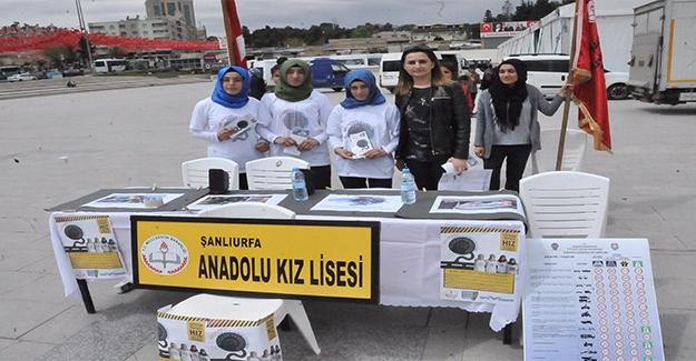 Şanlıurfa'da ''Trafikte Gençlik Hareketi'' Projesi