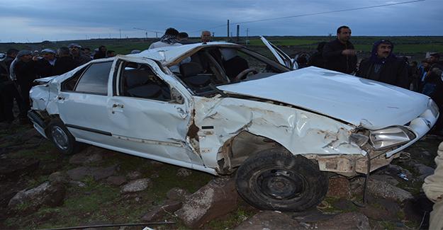 Şanlıurfa'da Trafik Kazası 1 Yaralı