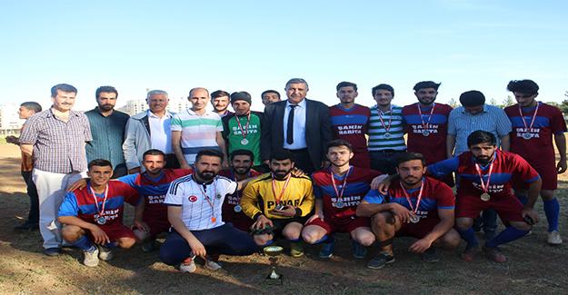 25. Yıl Eyyübiye Kampüsü Okulları Futbol Turnuvası Sona Erdi