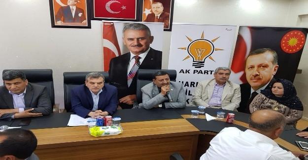 AK Parti Harran İlçe Yürütme Kurulu Toplantısı Yapıldı