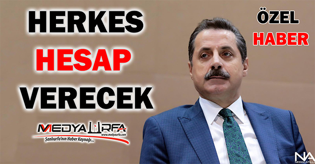 Bakan Çelik Şanlıurfaspor ile İlgili İlk Kez Konuştu