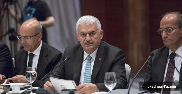 Başbakan Yıldırım, Yabancı Yatırımcılarla Bir Araya Geldi