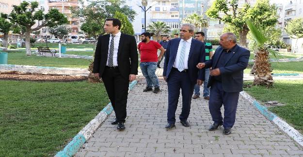 Başkan Demirkol Veysel Karani'de İncelemelerde Bulundu