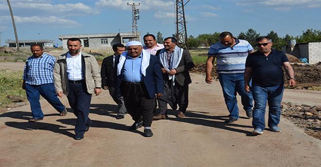 Başkan Yılmaz Kırsal Mahallede İncelemelerde Bulundu