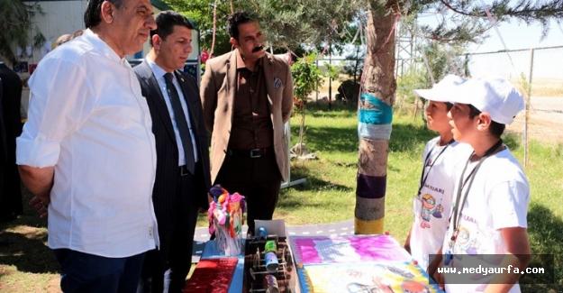 Ceylanpınar'da Bilim Fuarı Açıldı